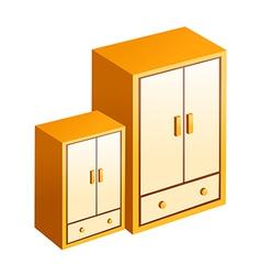 Icon closet vector