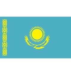Kazakhstan flag image vector