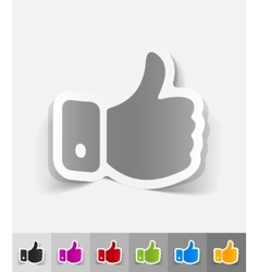 realistic design element cool vector image vector image