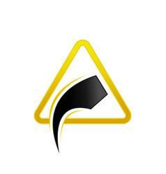 Road repair sign symbol vector