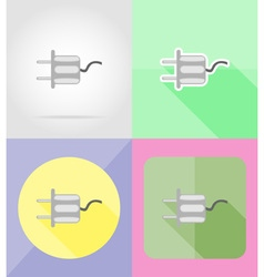 Service flat icons 22 vector