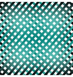 Texture grid abstract background blue green seamle vector image