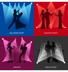 Party design concept vector image vector image