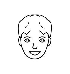 Happy face vector