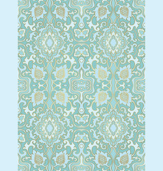 turquoise abstract pattern vector image