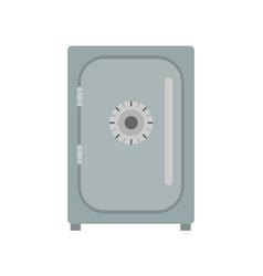 safe icon vevtor lock box bank security deposit vector image vector image