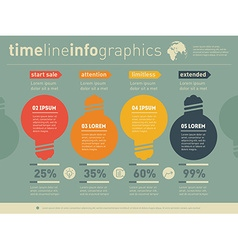 Web Template of diagram or presentation Business vector image vector image