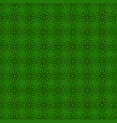 seamless background with green design st patrick vector image vector image
