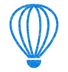 Aerostat Grainy Texture Icon vector