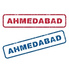 Ahmedabad Rubber Stamps vector