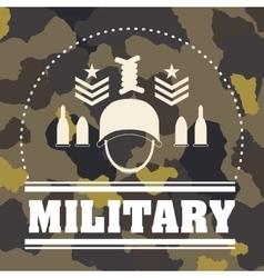 Armed forces design vector image