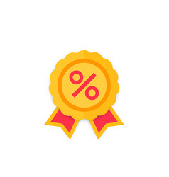 discount special offer sale badge vector image