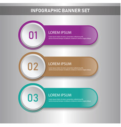 Infographic business conceptual template vector