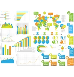 INFOGRAPHICS ELEMENTS 3 SPECIAL EDITION vector image