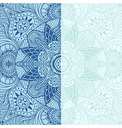 Ornamental lace pattern square background with vector