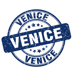 Venice stamp vector