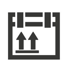 box carton packing icon vector image vector image