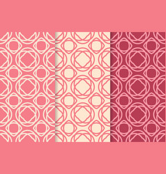 geometric seamless pattern colored background vector image vector image