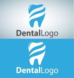 Dental logo 7 vector