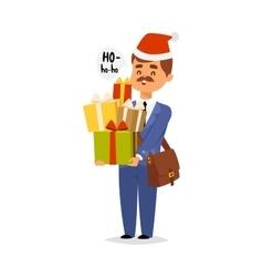 Postman character vector image