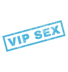 Vip Sex Rubber Stamp vector