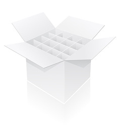 packing box 11 vector image vector image