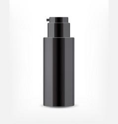 realistic cosmetic bottle vector image