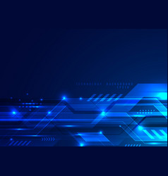 abstract futuristic digital technology concept vector image
