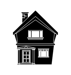 american house domestic vector image