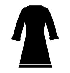 Bathrobe icon simple style vector