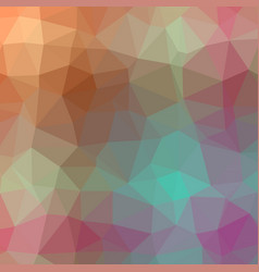 crystaline polygonal background vector image