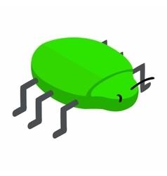 Spy bug isometric 3d icon vector