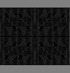African tribal aborigines ornament geometric vector