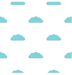 Autumn cloud pattern flat vector