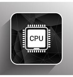 Circuit board icon Technology scheme square symbol vector
