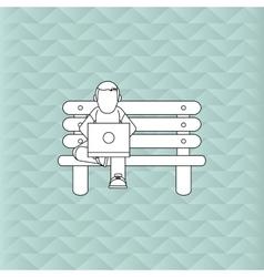 Design of resting editable vecctor vector