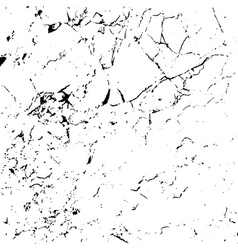 Grunge marble texture white and black 1 vector image vector image