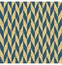 Seamless Blue Yellow Color Hand Drawn vector image