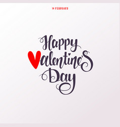 silhouette valentines day vector image