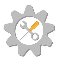 Tools equipment icon design vector
