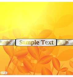Abstract tea background vector image