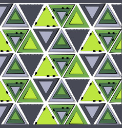 abstract minimal background green tribal vector image vector image