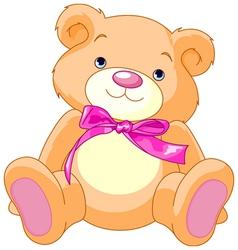 child teddy bear vector image vector image