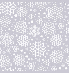 seamless pattern silhouette vector image