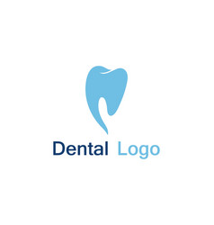 dental care logo and symbol vector image