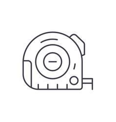 measurement line icon concept measurement vector image