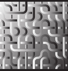 Pipeline grid abstract geometric design of tubes vector
