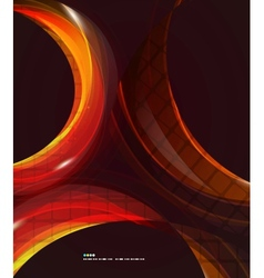Colorful swirl abstract background vector image vector image