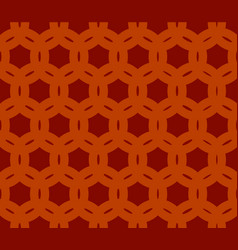 geometric seamless brown background vector image vector image