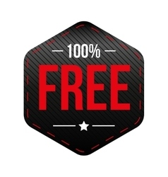 Hundred percent free vector image
